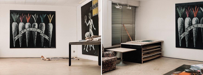 Das Atelier von Radomir in Bielefeld