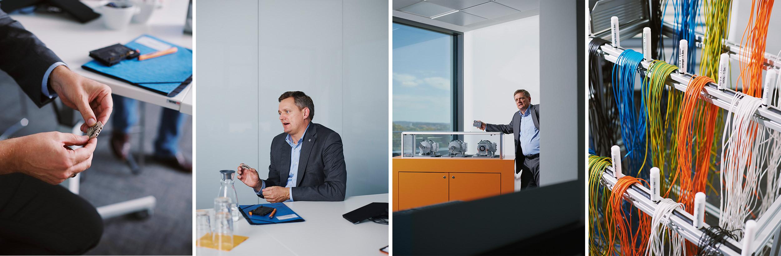 Jörg Timmermann  Weidmüller, Detmold 2019 Vorstandssprecher und Finanzvorstand für CAPITAL I Patrick Pollmeier