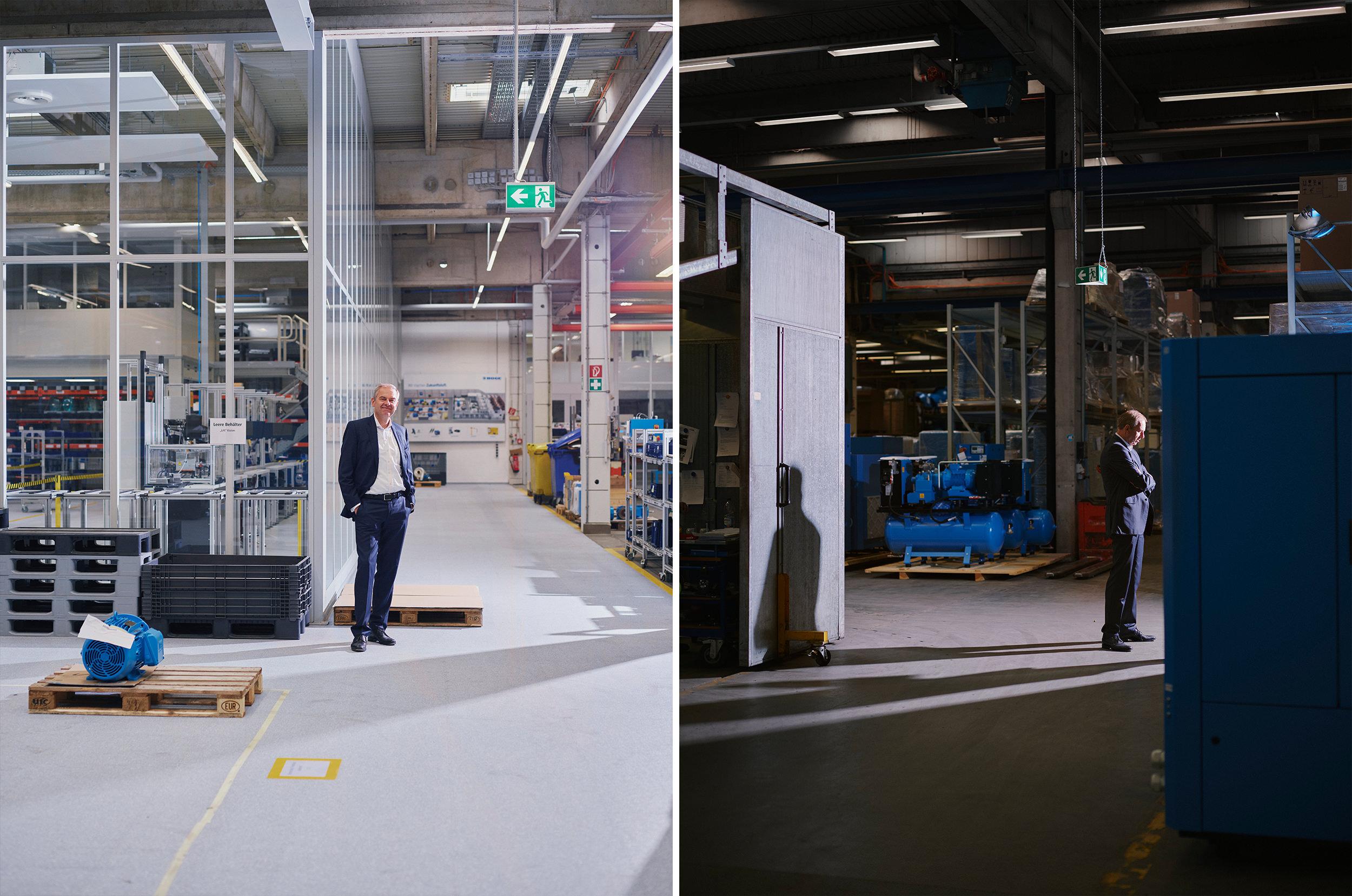 Wolf D. Meier-Scheuven   Urenkel von Otto Boge, leitet das Unternehmen in 4. Generation  BOGE, Bielefeld 2019 für CAPITAL I Patrick Pollmeier