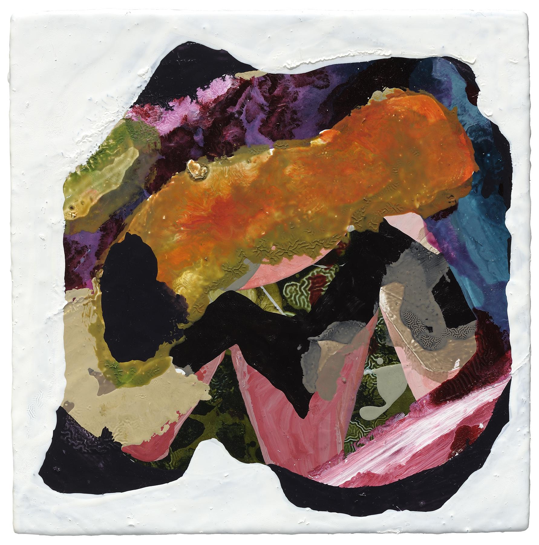 """Bird Hole B, 2012, oil on panel, 8 x 8"""""""