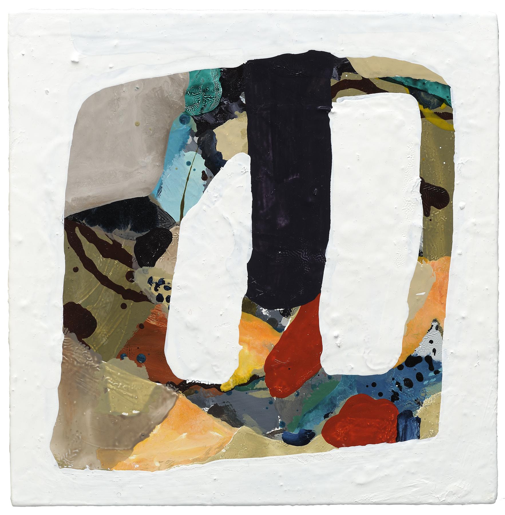 "Buckle, 2012, oil on panel, 12 x 12"""