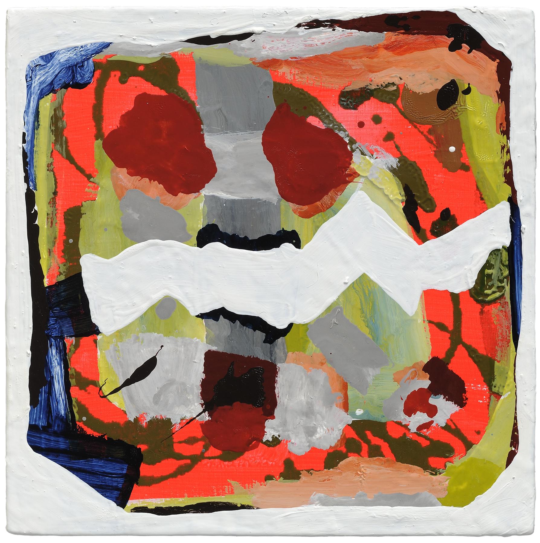 """Bird Hole D, 2012, oil on panel, 8 x 8"""""""