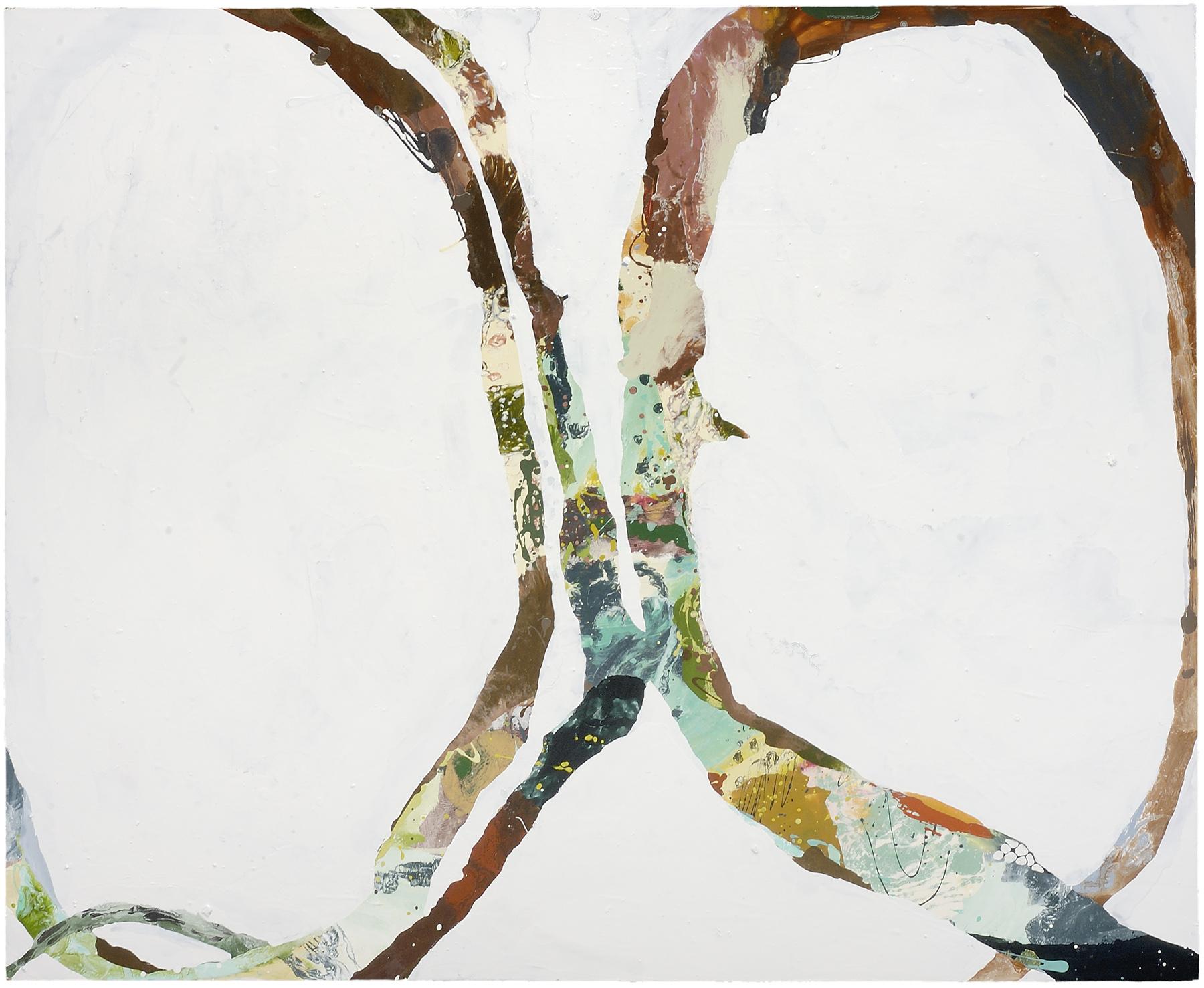 "Owl Eyes, 2006, oil on panel, 45 X 55"""