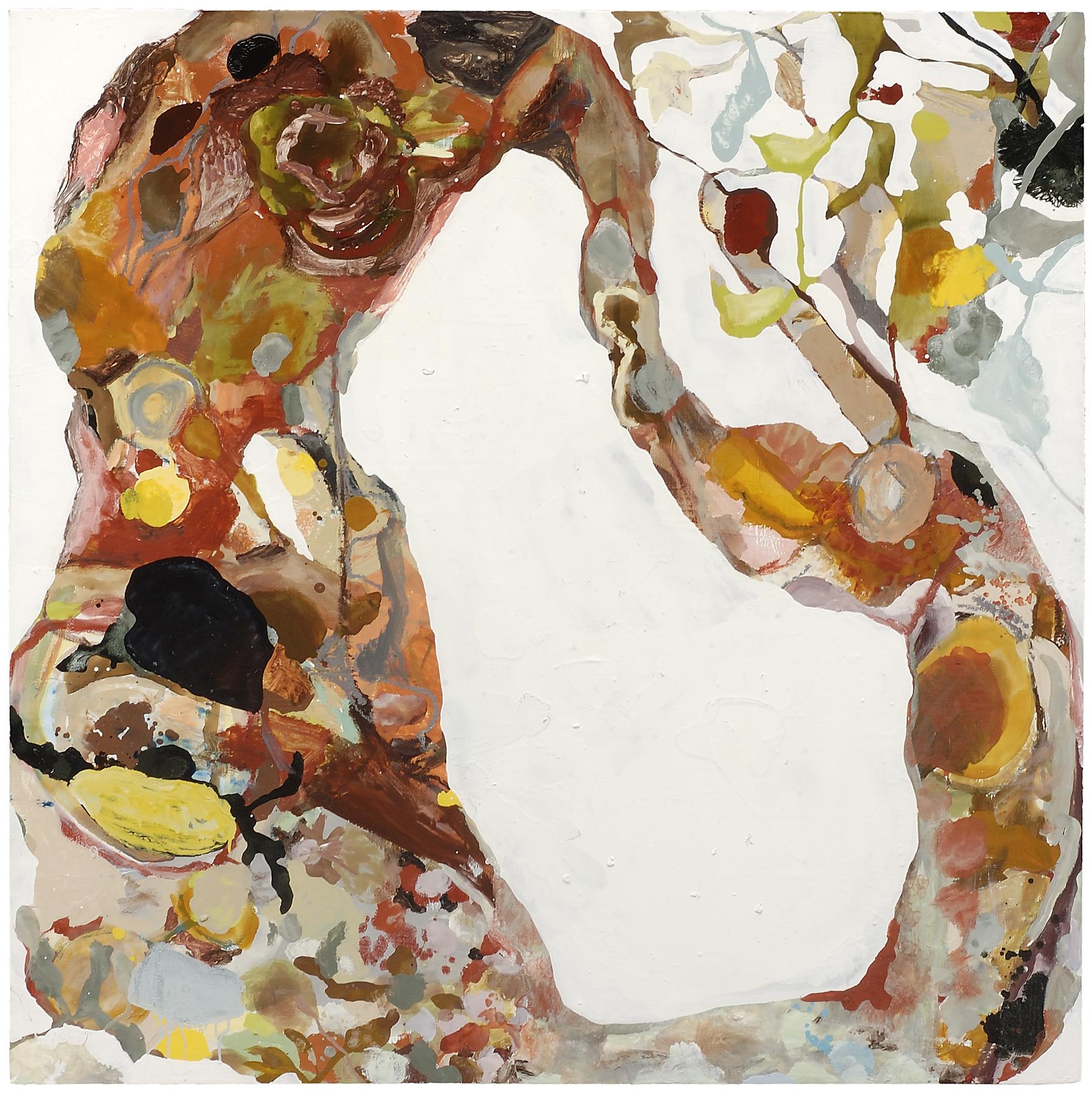 "Heavy & Soft, 2007, oil on panel, 48 x 48"""