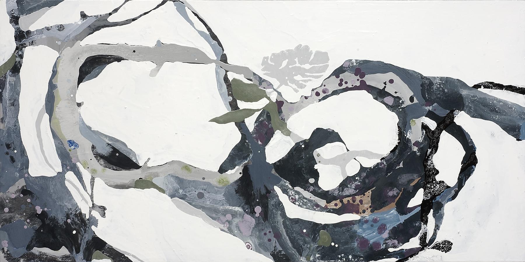 "Grey Ant, 2007, oil on panel, 25 x 36"""