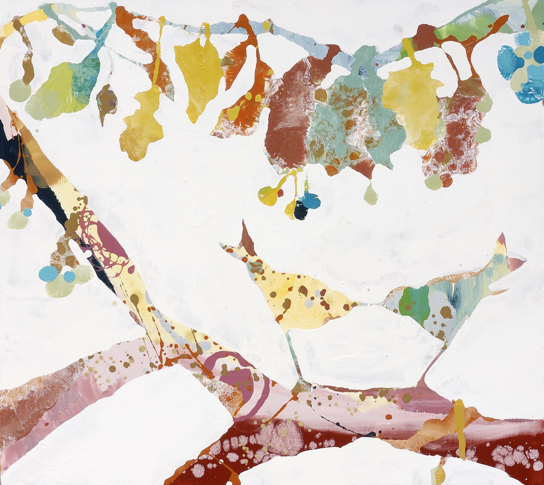 """Fiesta Love, 2005, oil on panel, 25 X 28"""""""