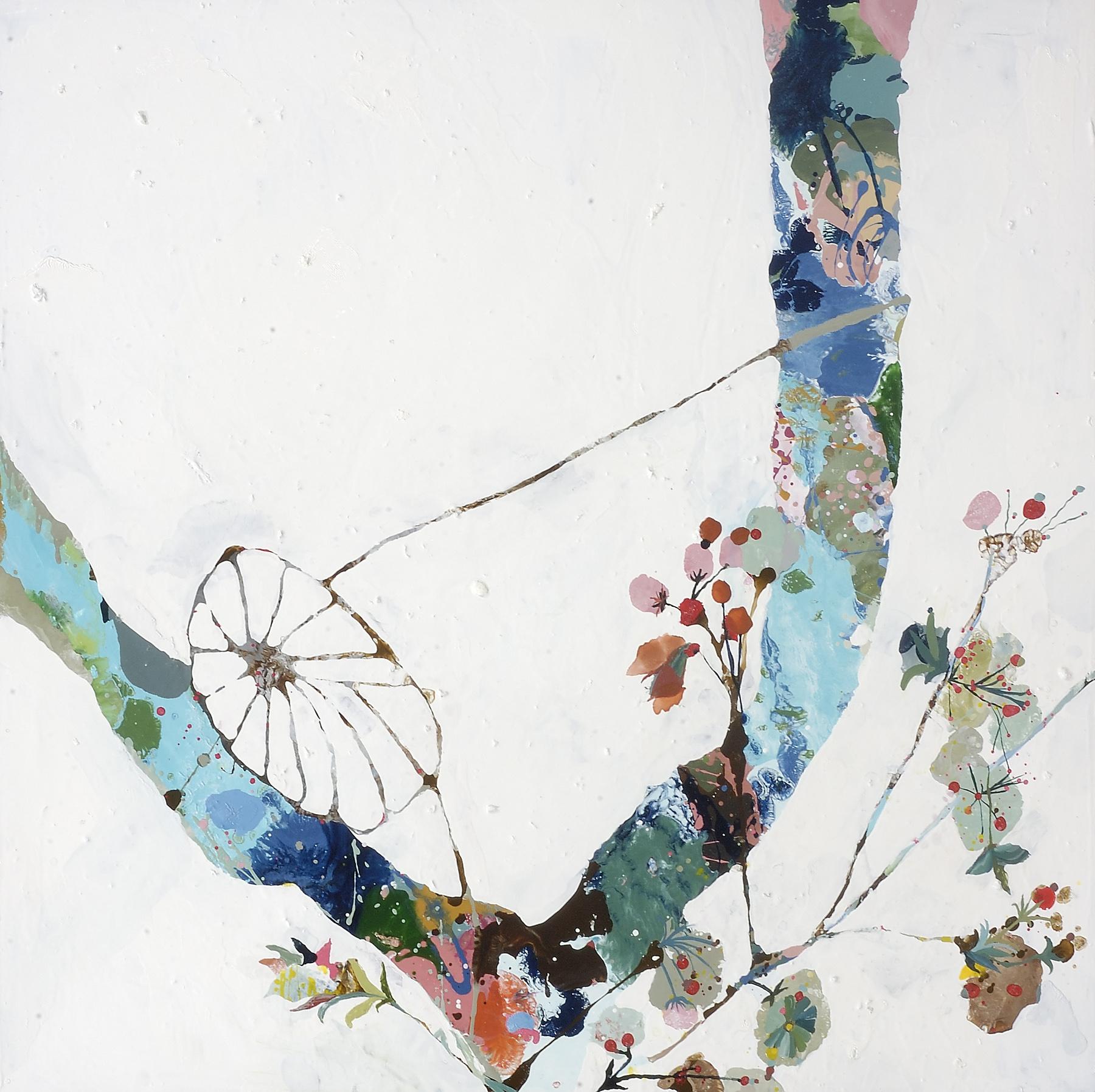 "Deep Sea in a Tree, 2006, oil on panel, 40 x 40"""