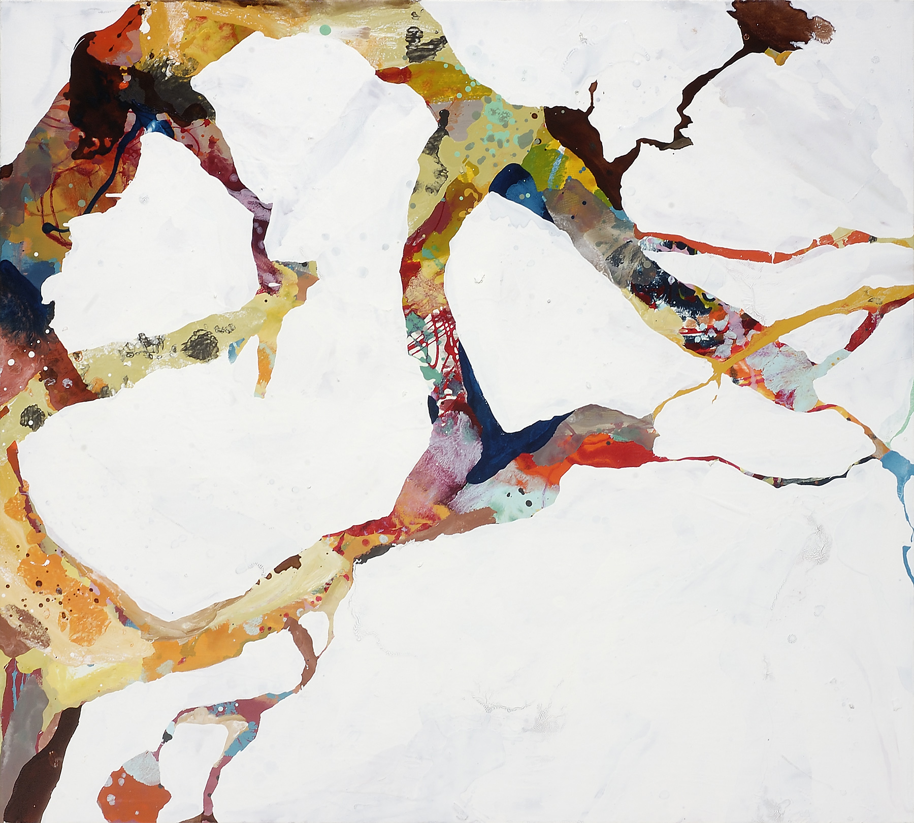 "Wishbone, 2006, oil on panel, 36 x 39"""