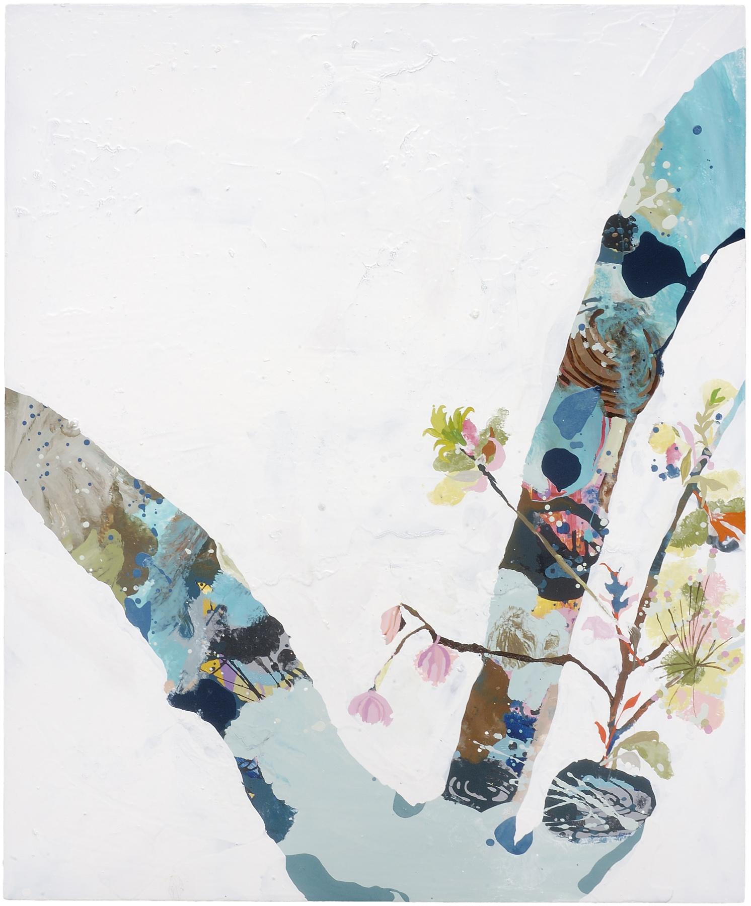 "Split, Sparkle and Shine, 2006, oil on panel, 40 X 33"""