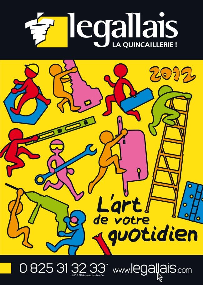 Catalogue Legallais 2012 façon Keith Haring