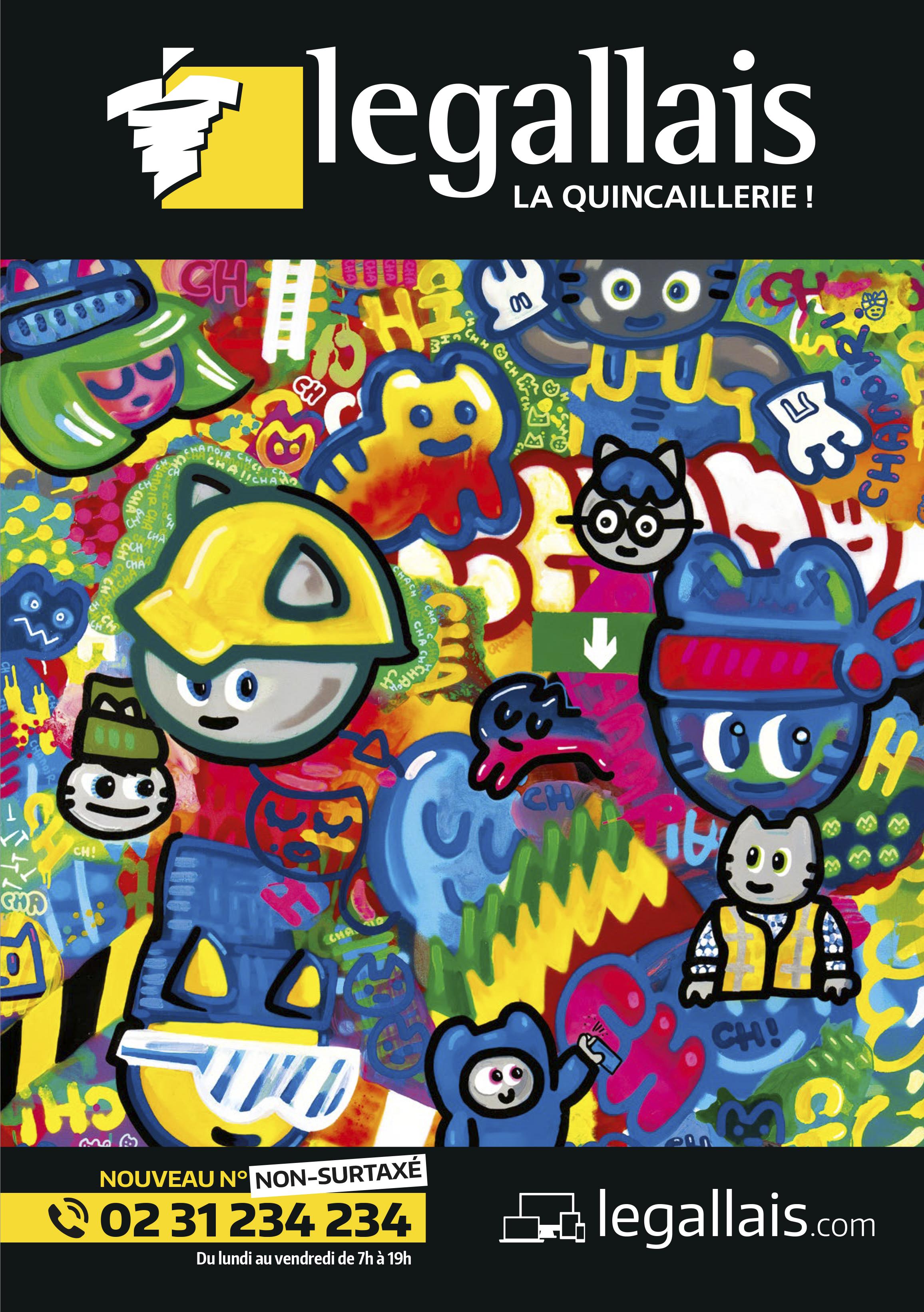 Catalogue Legallais 2016 par Chanoir