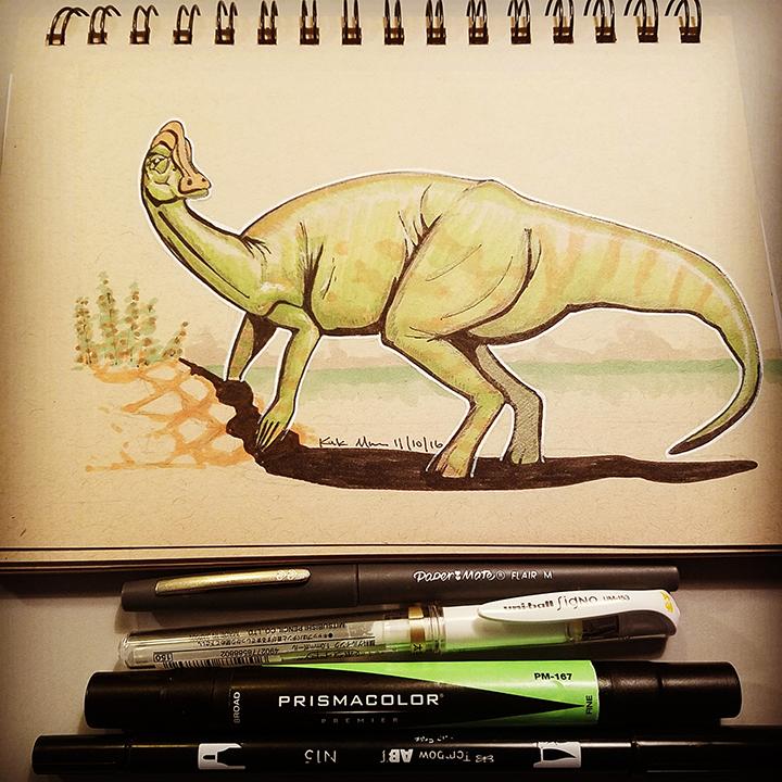 10 Jaxartosaurus