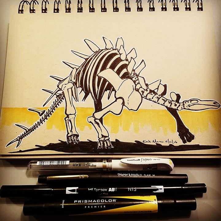 11 Kentrosaurus