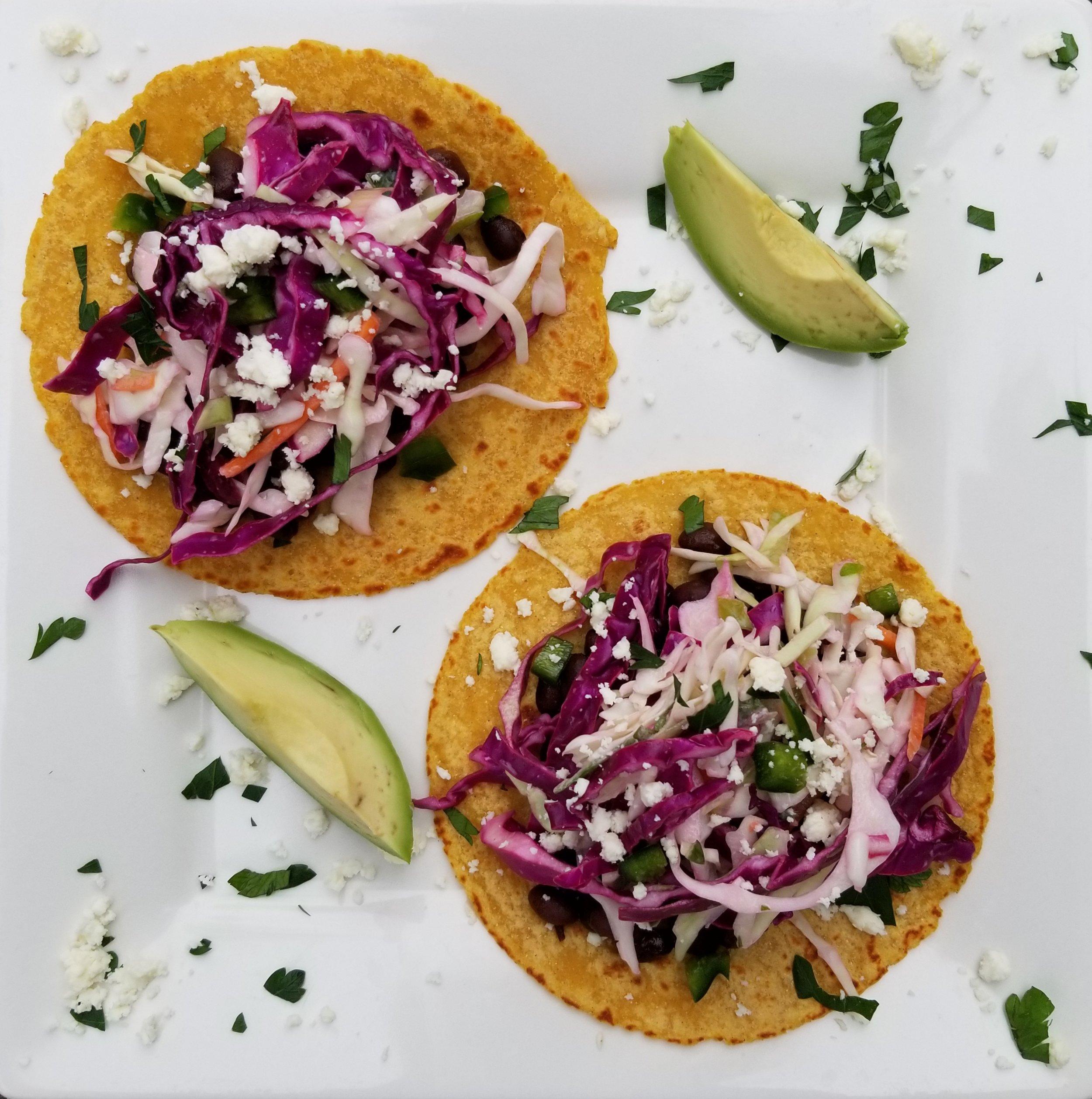Month In Review April 2018 - Minimalist Kitchen Black Bean Tacos.jpg