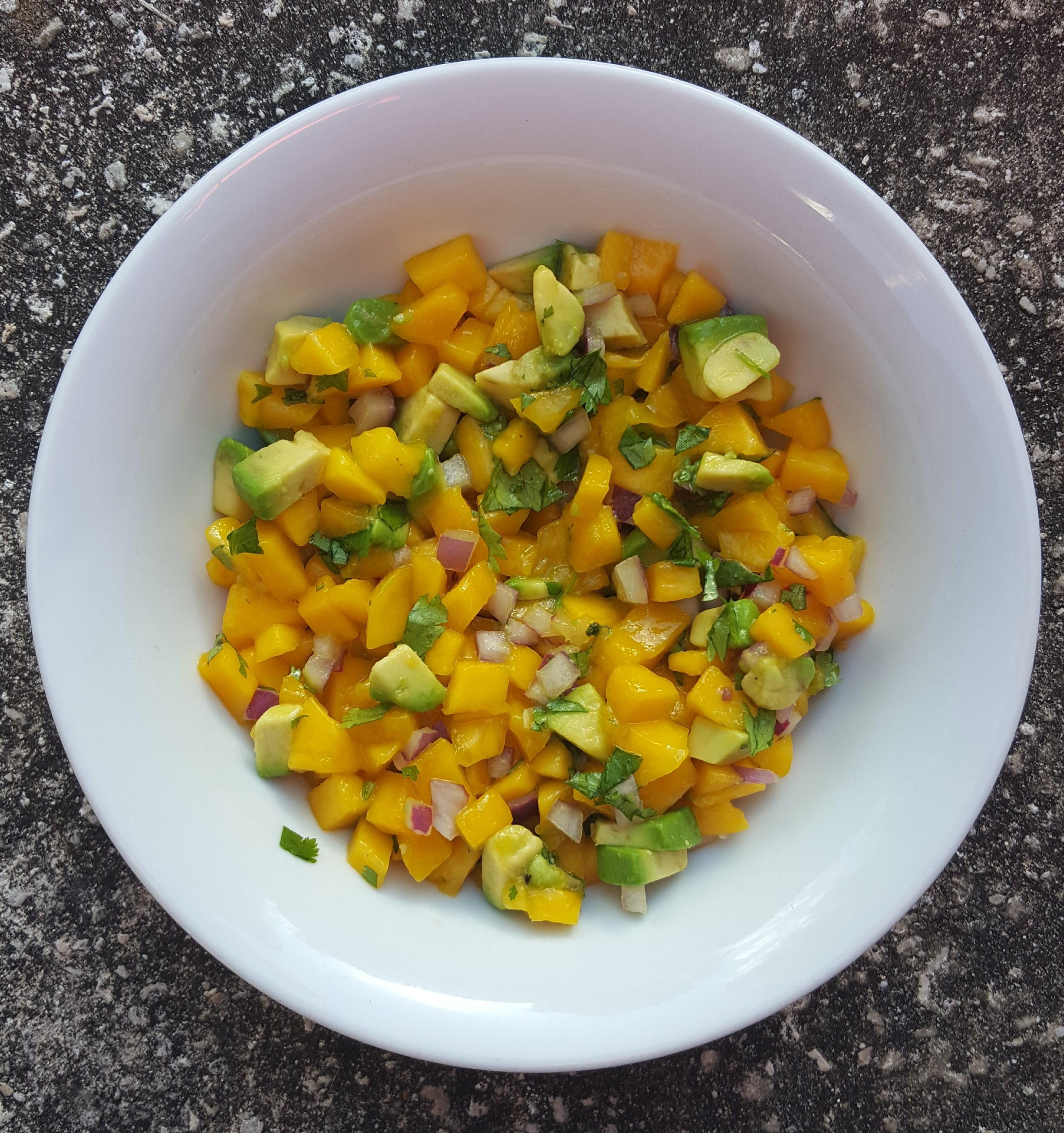 Mango Salsa - EAT your fruit