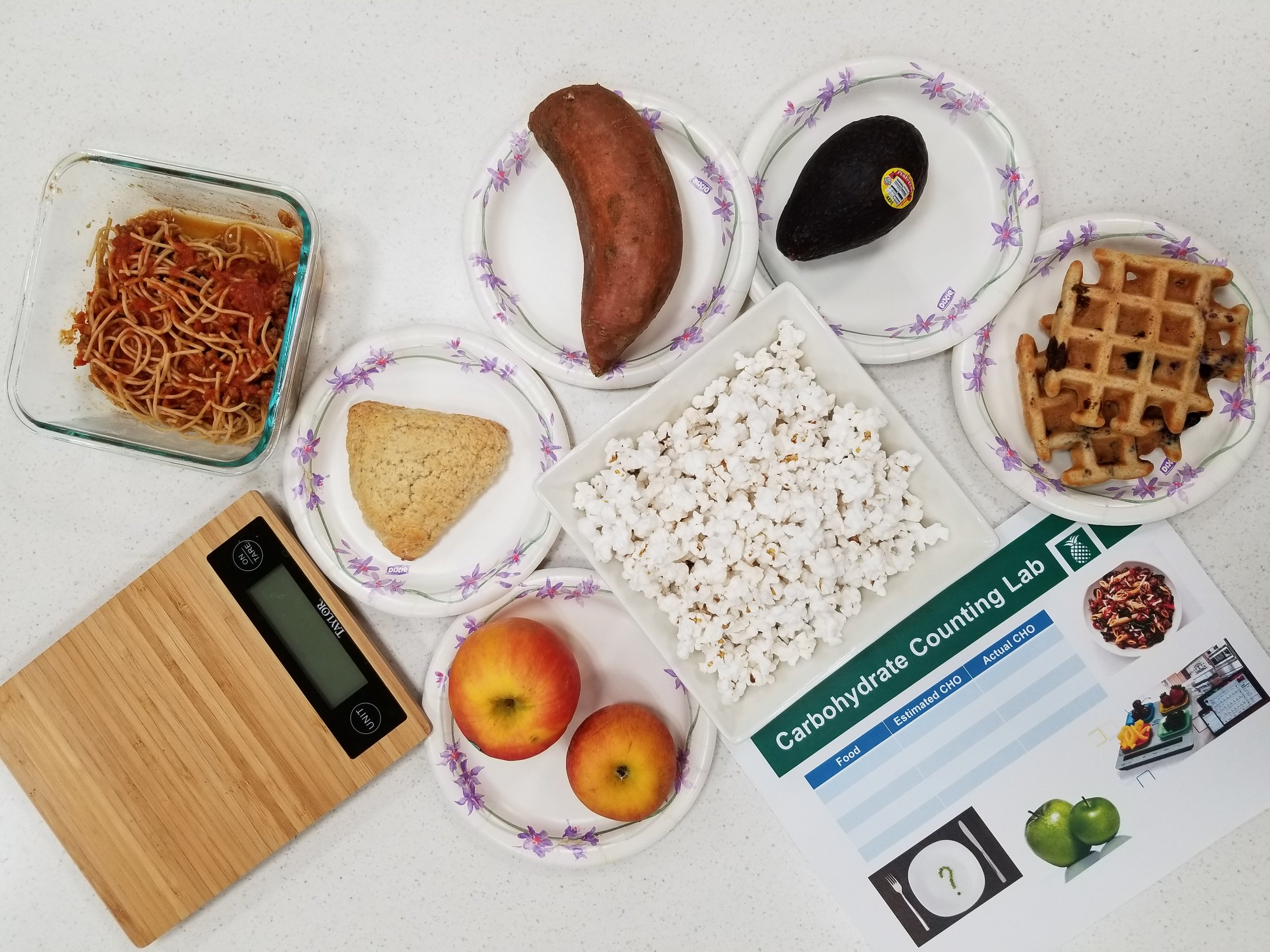Carb Counting Lab - how well do you carb count??