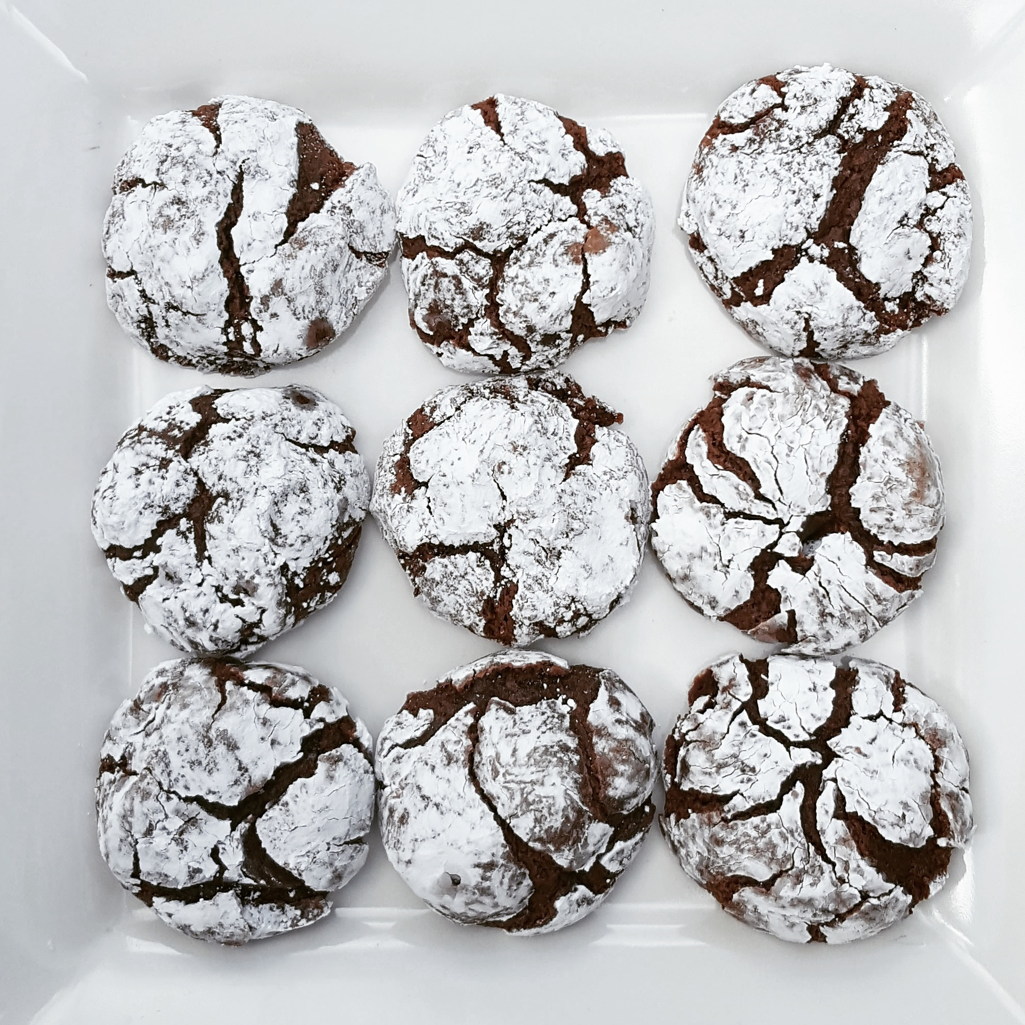 Crinkle Cookies aka almost everyone's favorite but mine.