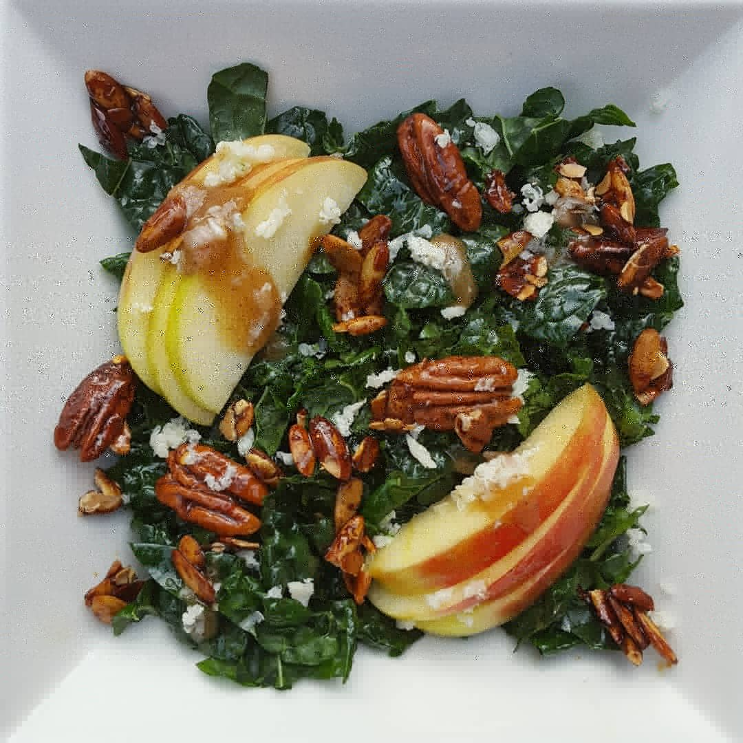 This kale salad is a keeper. Every year.