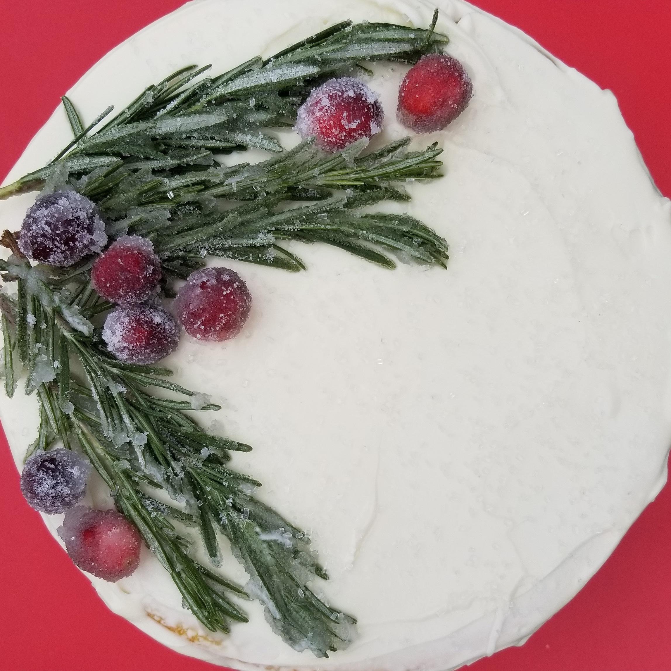 The Christmas Cake to end all Christmas cakes.