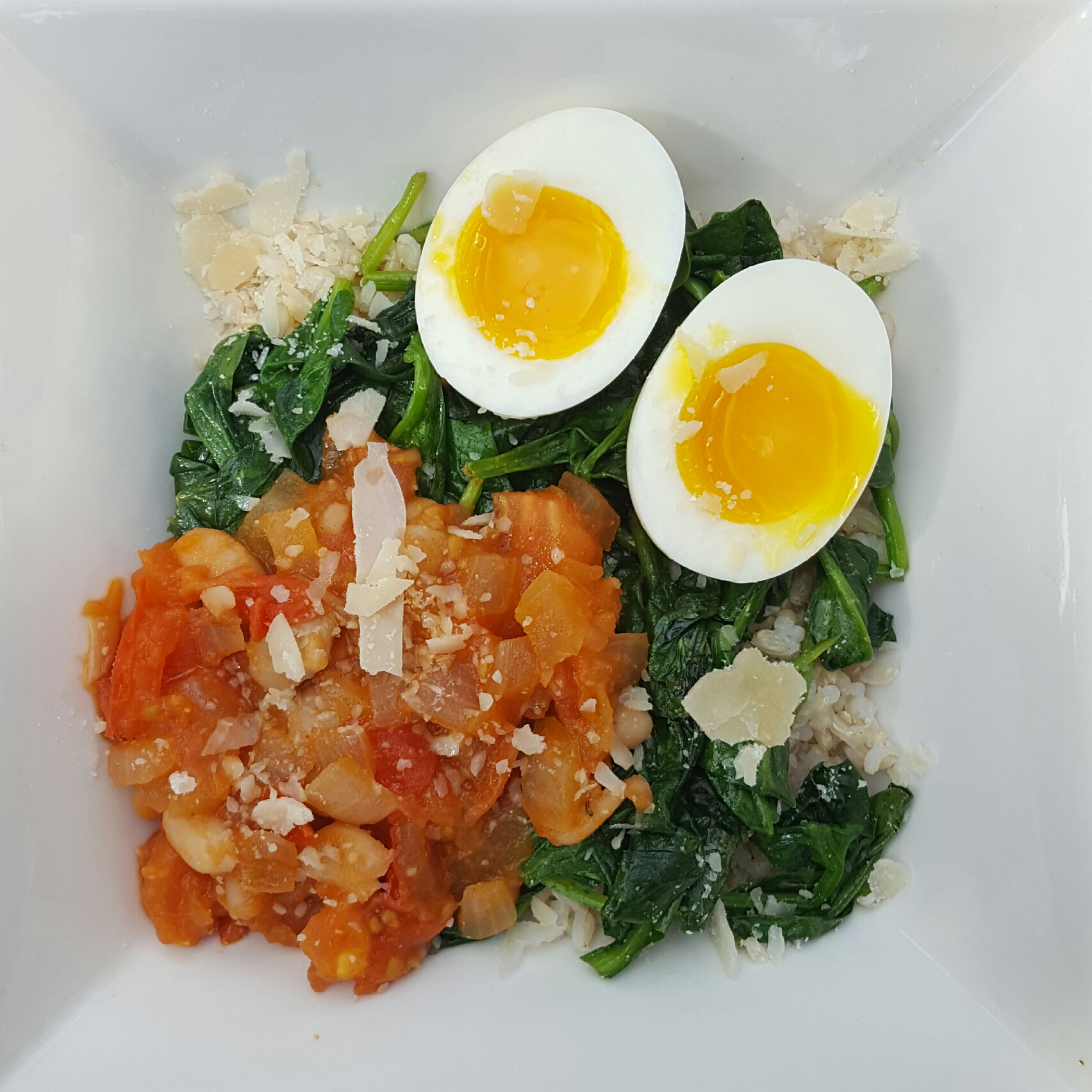 That's A Keeper 6 - White Beans with Tomato, Spinach, and Rice.jpg