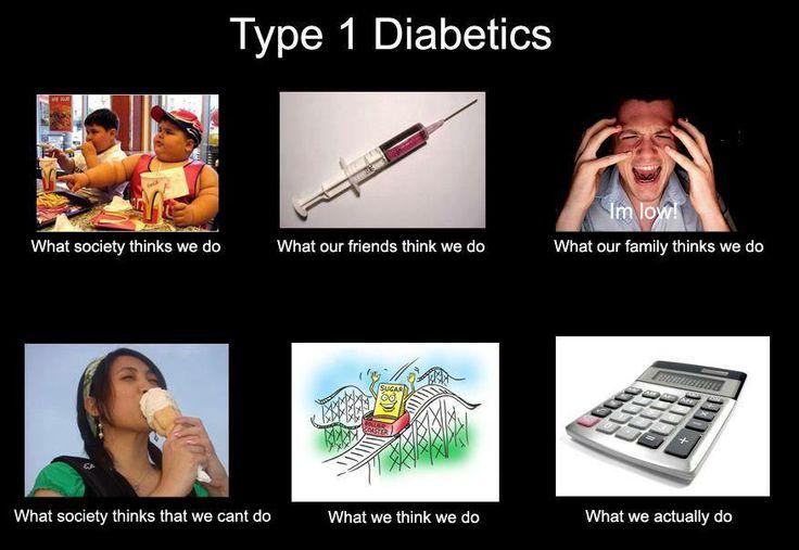 Diabetes Awareness Month - type 1 diabetes meme.jpg