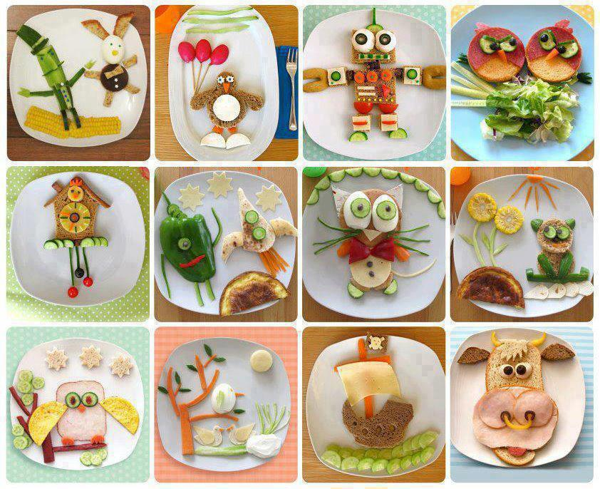 Not asking you to make food plates like this all the time, but every now and then it might be fun (for you and your child!)