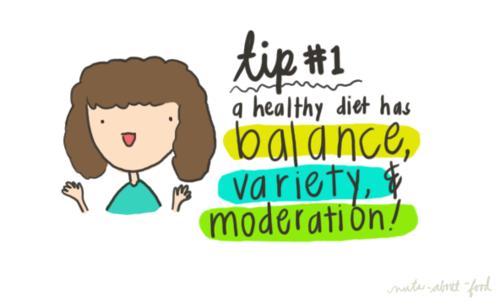 #RDAmy #nutrition #variety #balance #moderation
