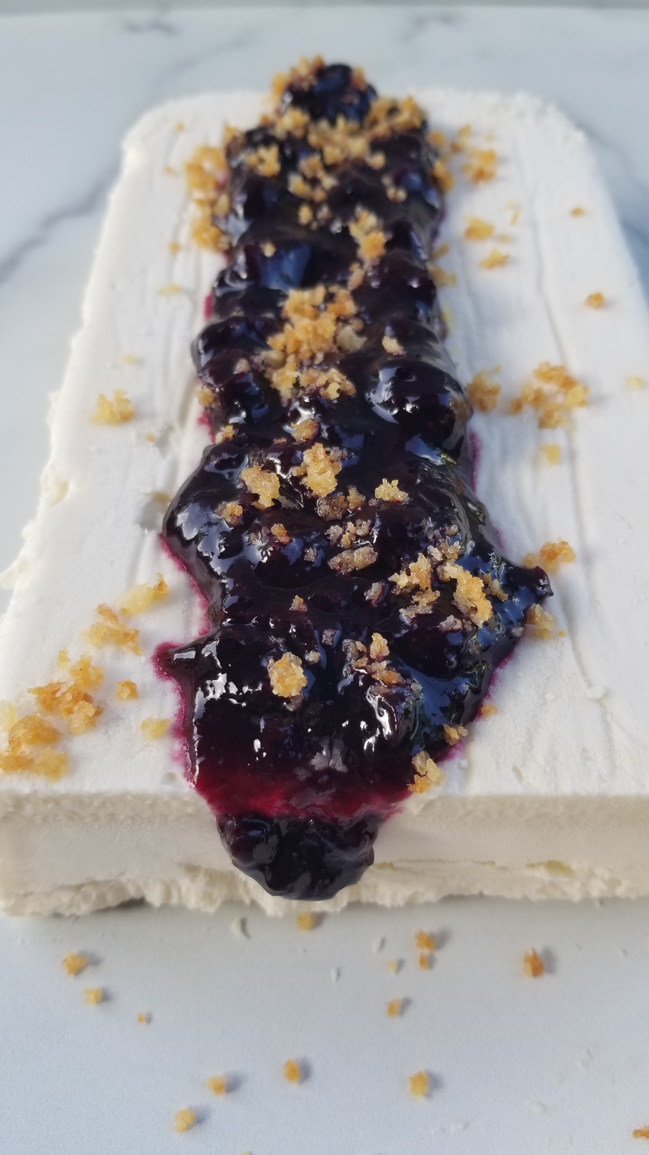 Also good with Blueberry Chia Jam, Semifreddo.