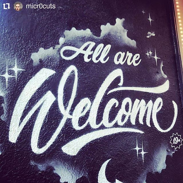 #AllAreWelcome in Montreal  #montreal #canada #cdnpoli #asylumseekers #asylum #seekingrefuge #seekingasylum #bienvenue #qcpoli #refugees #refugeeswelcome #refugee #welcomeall #welcomerefugees #refugeeswelcomehere #mtl  #mtlmoments #Repost @micr0cuts • • • • • • All are welcome #welcome #refugeeswelcome #art #graffiti #nofilter #l4l #streetart #downtown #vancouver  #britishcolumbia #igerscanada #igersvancouver