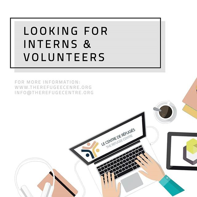 New volunteering opportunities in research, case management and graphic design at the Refugee Centre! Head to our website on our bio to learn all of the details!