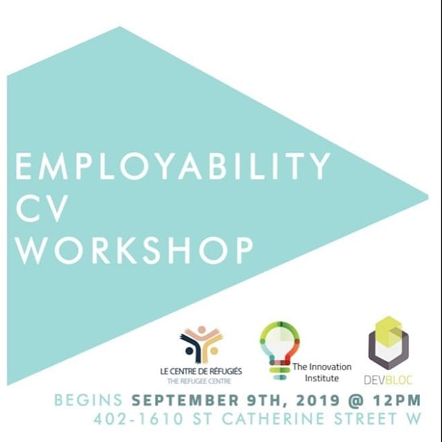Register now to our CV workshops! Link to our website on our bio #montreal #canada #cdnpoli #asylumseekers #mtl #jobsearch #employment #refugees #refugeeswelcome #refugee #welcomeall #welcomerefugees #refugeeswelcomehere