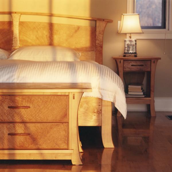 Bedroom Suite Western Maple & Arbutus Burl  Veneer.jpg