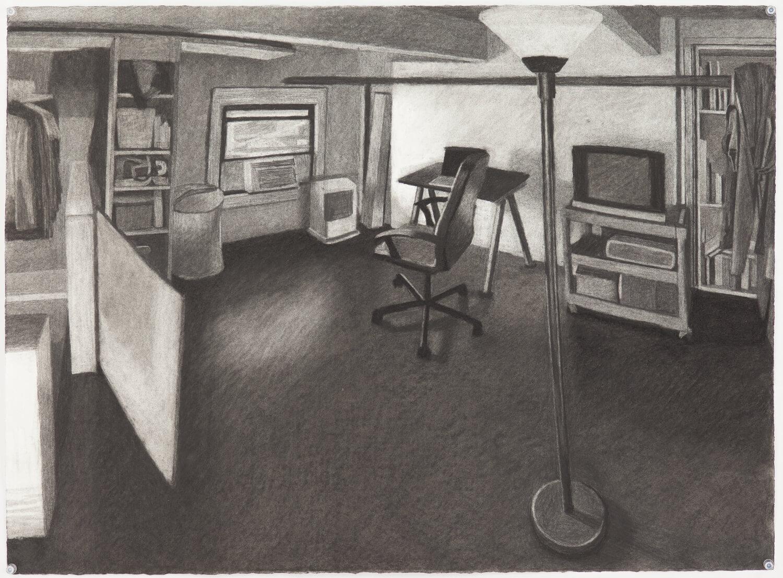 Study for Brooklyn Loft Bedroom #2