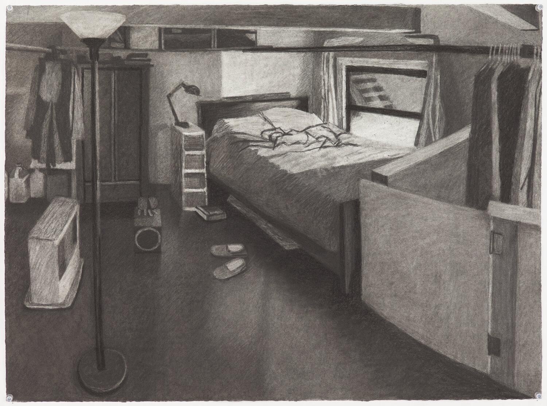Study for Brooklyn Loft Bedroom