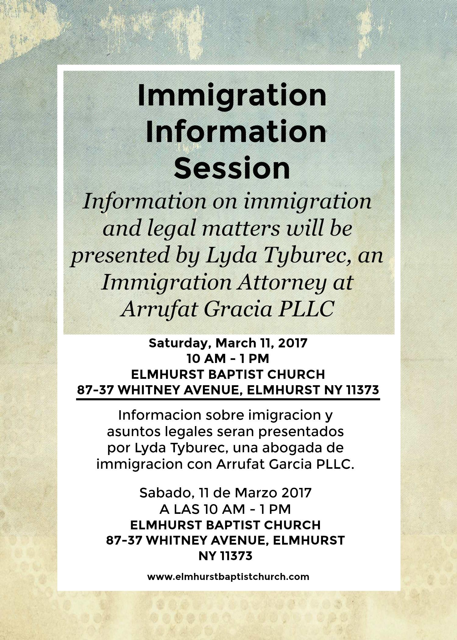 We encourage everyone to come!