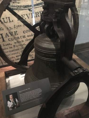 Church bell made by Paul Revere