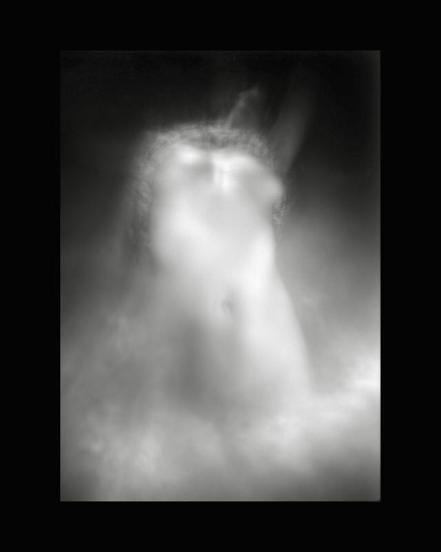 Obscures ( II )  Gelatin silver print, 14 x 11 in.