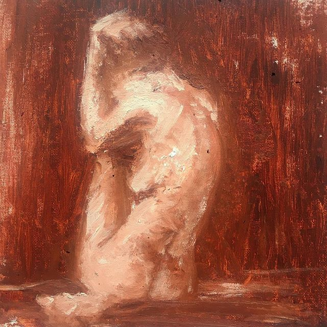 @croquiscafe model Helen Troy #lifedrawing #figuary #artwork #painting