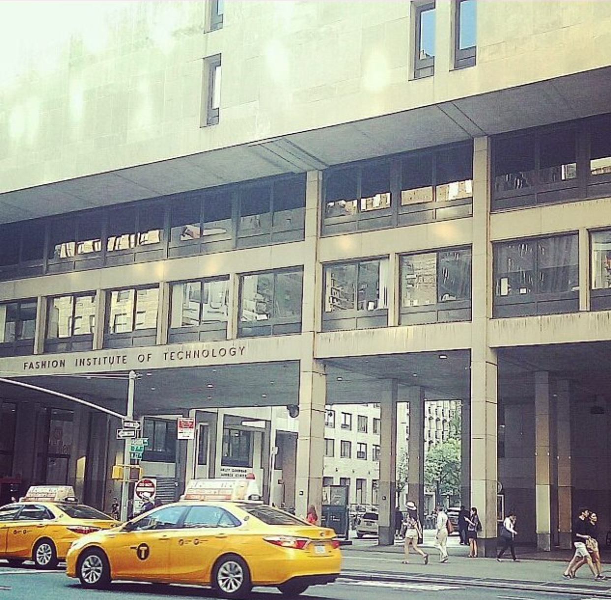 Alma Mater - The Fashion Institute of Technology at W27th Street and 7th Avenue NYC