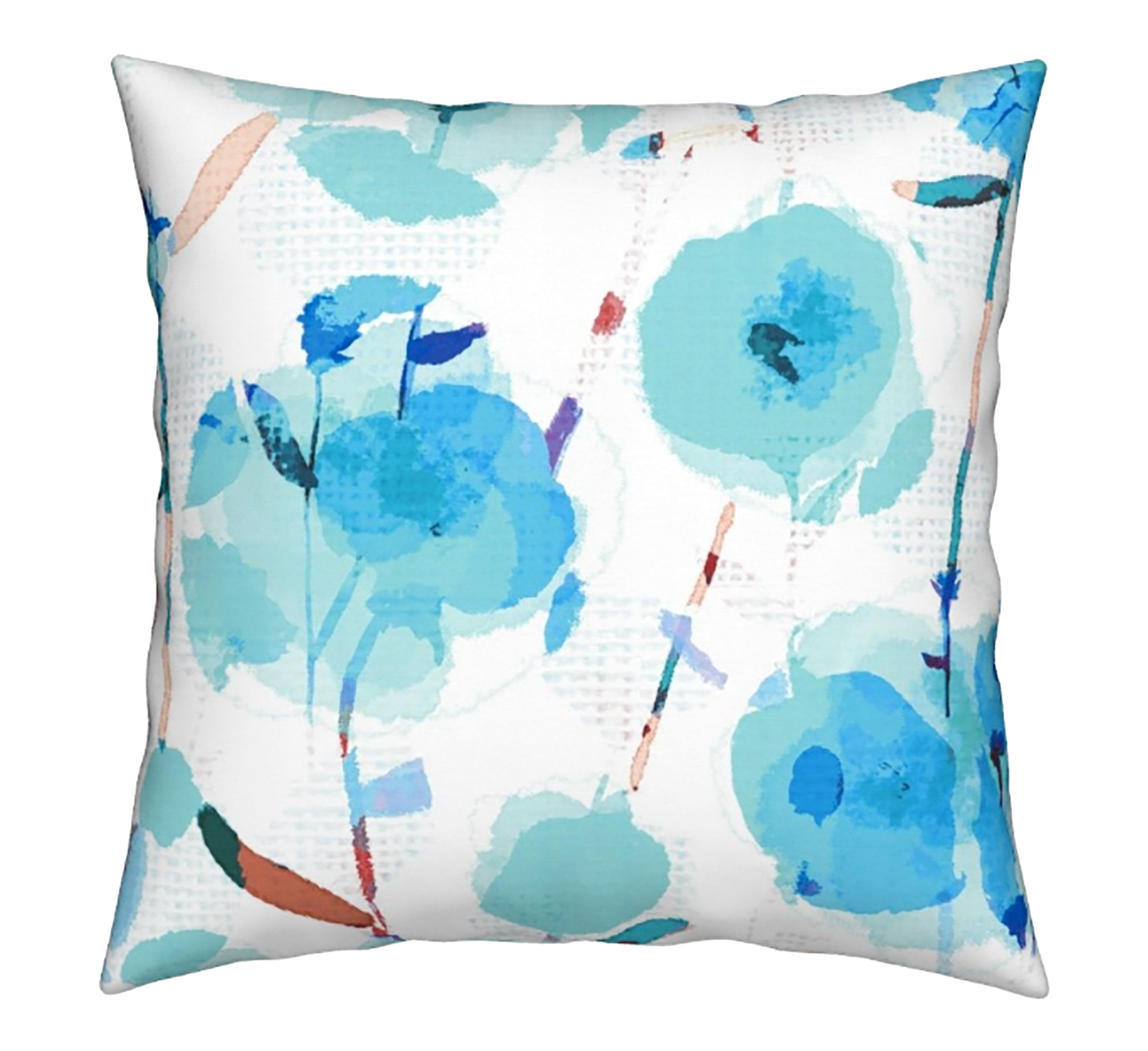 """Skylar Blooms"" print on the 18x 18 Catalan throw pillow    https://roostery.com/e?user=rachelle_caliolio_design"