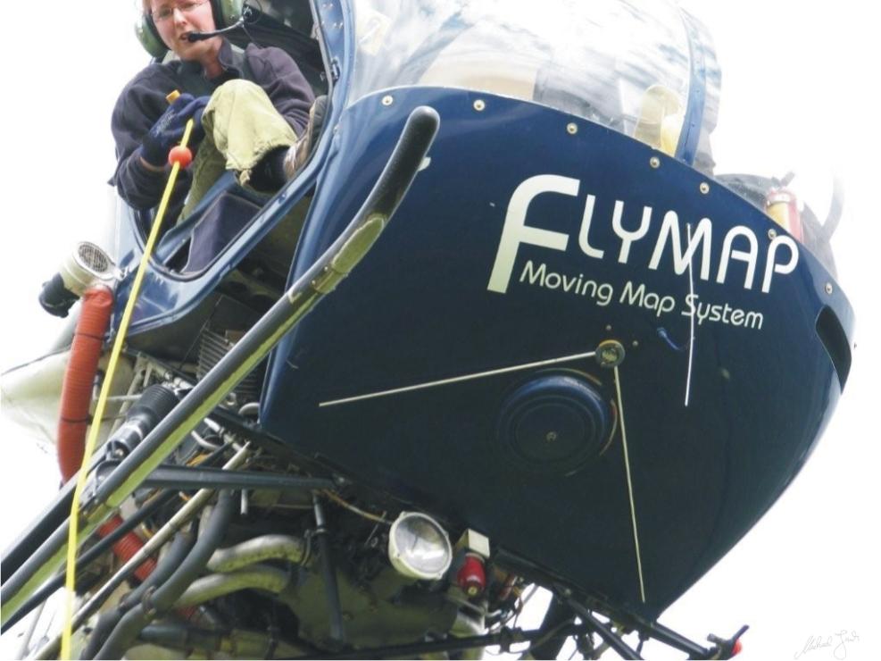 Flymap in action (Bild: Michael Junk)