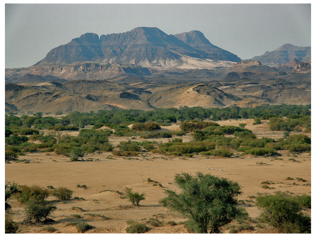 The Etendekas in Damaraland