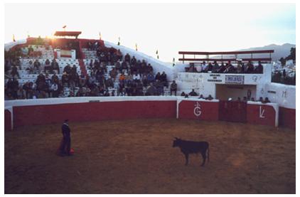 Bullfighting Ring, Mijas, Spain