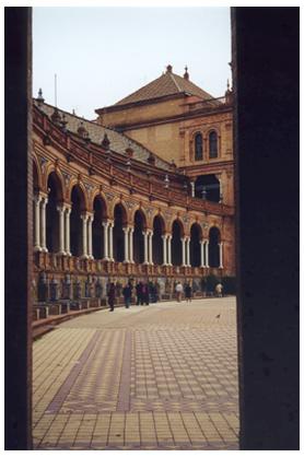 Spanish Palace, Seville, Spain