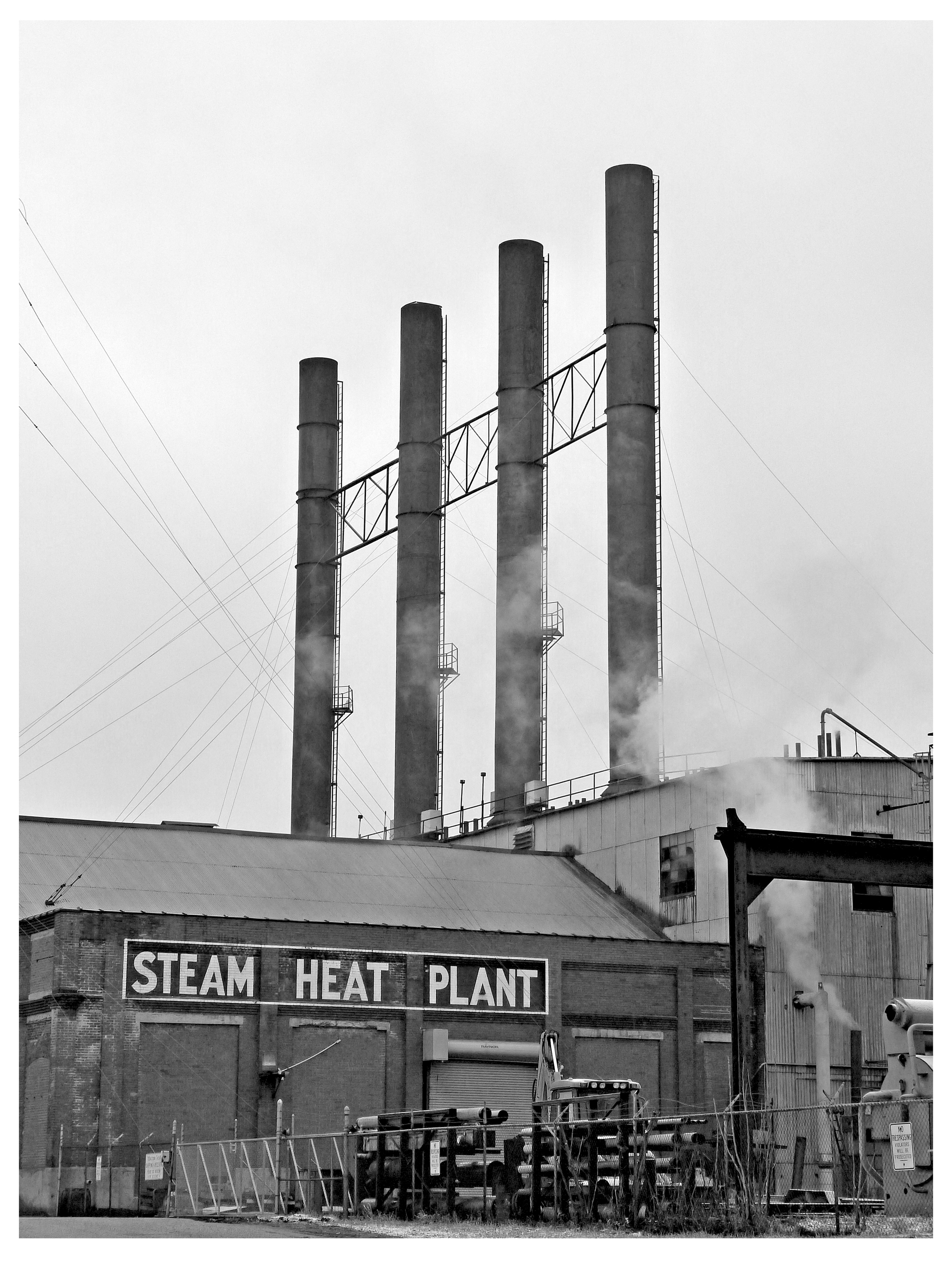 Steam Heat Plant, Youngstown, Ohio