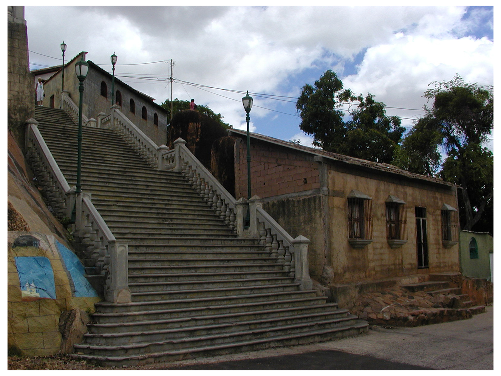 Staircase in Bolivar