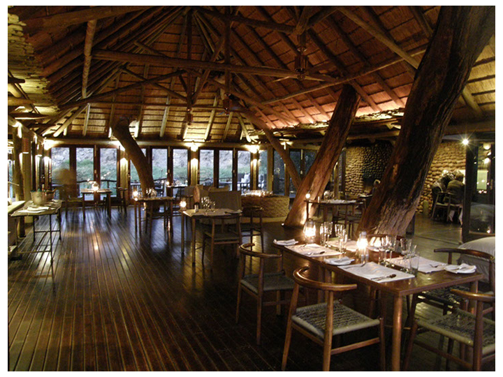 Dining Room at Serra Cafema, Namibia