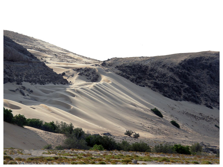 Dunes near the camp