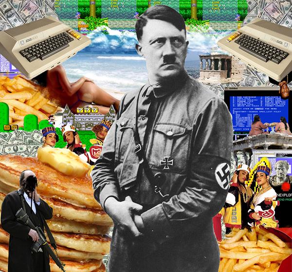+ Hitler's Mustache