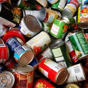 Hold a can food drive